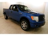 2014 Blue Flame Ford F150 STX SuperCab 4x4 #131569739