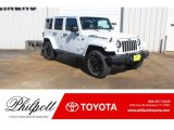2017 Bright White Jeep Wrangler Unlimited Smoky Mountain Edition 4x4 #131593677