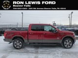2019 Ruby Red Ford F150 King Ranch SuperCrew 4x4 #131608701