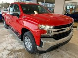 2019 Red Hot Chevrolet Silverado 1500 LT Z71 Double Cab 4WD #131608887