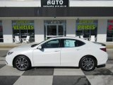 2018 Bellanova White Pearl Acura TLX V6 Sedan #131608802