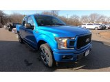 2019 Velocity Blue Ford F150 STX SuperCab 4x4 #131634892
