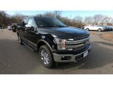 2019 Agate Black Ford F150 Lariat SuperCrew 4x4 #131634890