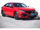 2019 Rallye Red Honda Civic Sport Hatchback #131634866