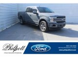 2019 Abyss Gray Ford F150 Lariat Sport SuperCrew 4x4 #131643530