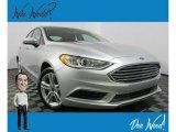 2018 Ingot Silver Ford Fusion Hybrid SE #131643564