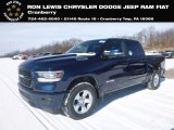 2019 Patriot Blue Pearl Ram 1500 Big Horn Crew Cab 4x4 #131643451