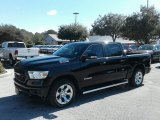 2019 Diamond Black Crystal Pearl Ram 1500 Big Horn Crew Cab 4x4 #131643615