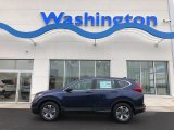 2019 Obsidian Blue Pearl Honda CR-V LX AWD #131662713