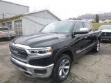 2019 Diamond Black Crystal Pearl Ram 1500 Limited Crew Cab 4x4 #131662757