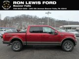 2019 Ruby Red Ford F150 Lariat SuperCrew 4x4 #131662700
