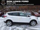 2019 White Platinum Ford Escape Titanium 4WD #131662698