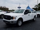 2019 Oxford White Ford F150 XL SuperCab #131679273