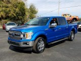 2019 Velocity Blue Ford F150 XLT SuperCrew #131679272