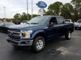 2019 Blue Jeans Ford F150 XLT SuperCrew 4x4 #131679266