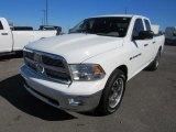2011 Bright White Dodge Ram 1500 SLT Quad Cab 4x4 #131692010