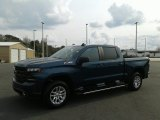2019 Northsky Blue Metallic Chevrolet Silverado 1500 RST Crew Cab 4WD #131707042