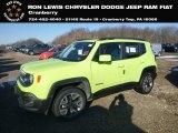 2018 Hypergreen Jeep Renegade Latitude 4x4 #131732182
