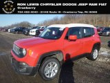 2018 Colorado Red Jeep Renegade Latitude 4x4 #131732180