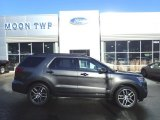 2016 Magnetic Metallic Ford Explorer Sport 4WD #131732350