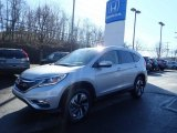 Alabaster Silver Metallic Honda CR-V in 2015