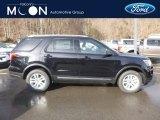 2019 Agate Black Ford Explorer XLT 4WD #131732326