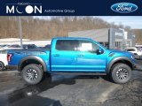 2019 Performance Blue Ford F150 SVT Raptor SuperCrew 4x4 #131732323