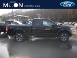 2019 Agate Black Ford F150 XL SuperCab 4x4 #131732322
