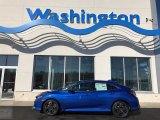 2019 Agean Blue Metallic Honda Civic EX Hatchback #131732209