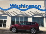 2019 Basque Red Pearl II Honda CR-V EX-L AWD #131732208