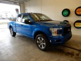 2019 Velocity Blue Ford F150 STX SuperCab 4x4 #131761160