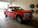 2019 Race Red Ford F150 XLT SuperCab 4x4 #131761157