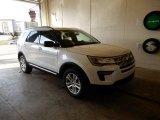 2019 White Platinum Ford Explorer XLT 4WD #131761151