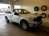 2019 Ingot Silver Ford F150 XL Regular Cab 4x4 #131761150