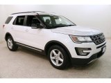 2016 White Platinum Metallic Tri-Coat Ford Explorer XLT 4WD #131761390