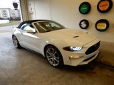 2019 Oxford White Ford Mustang GT Premium Convertible #131761144