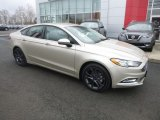2018 White Gold Ford Fusion SE #131761423