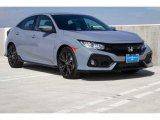 2019 Sonic Gray Pearl Honda Civic Sport Hatchback #131761241