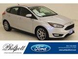 2015 Ingot Silver Metallic Ford Focus SE Hatchback #131761305