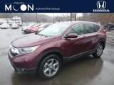 2019 Basque Red Pearl II Honda CR-V EX-L AWD #131789202