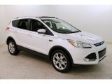 2016 White Platinum Metallic Ford Escape Titanium 4WD #131789283