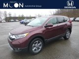 2019 Basque Red Pearl II Honda CR-V EX-L AWD #131789206
