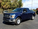 2019 Blue Jeans Ford F150 XLT SuperCab #131807350