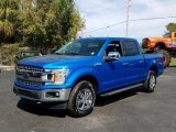 2019 Velocity Blue Ford F150 XLT SuperCrew 4x4 #131807341