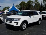2019 Oxford White Ford Explorer FWD #131807338