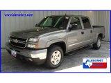 2006 Graystone Metallic Chevrolet Silverado 1500 Z71 Crew Cab 4x4 #13163997