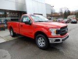 2019 Ford F150 Race Red