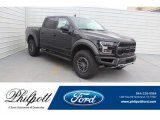 2019 Agate Black Ford F150 SVT Raptor SuperCrew 4x4 #131820306