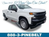 2019 Summit White Chevrolet Silverado 1500 WT Double Cab #131820057