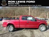 2019 Ruby Red Ford F150 XLT SuperCab 4x4 #131820174